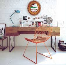 retro home office desk wonderful home workspaces