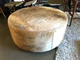 Lind Ottoman Fascinating Cowhide Ottoman Cowhide Ottoman Large