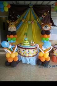 safari baby shower ideas baby shower de temática safari 5 mesa de pasapalos mis