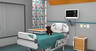 s hospital room obj