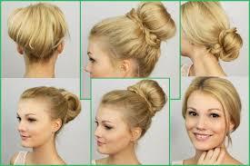 Hochsteckfrisuren Mittellange Haare Einfach by Einfache Schnelle Hochsteckfrisuren Sathairday
