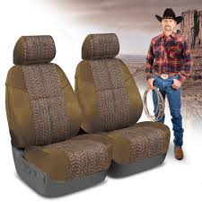 coverking saddleblanket custom fit seat covers front for ford f250