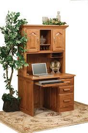 brilliant hutch for computer desk amish traditional computer desk
