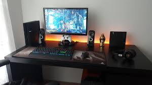 Console Gaming Desk My Pc Console Gaming Setup Battlestations