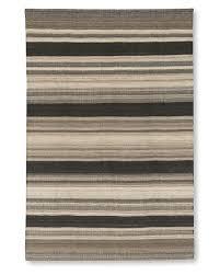 Grey Dhurrie Rug Saddle Blanket Bold Striped Dhurrie Rug Williams Sonoma