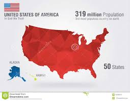 Usa Maps States by United State Of America Usa Map On Earth With A P Stock Photo