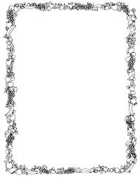 Halloween Page Borders by Music Border Clip Art Black And White Bricolaj și Artizanat