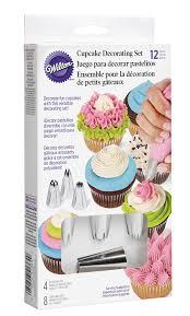 amazon com wilton 2104 1364 12 piece cupcake decorating set