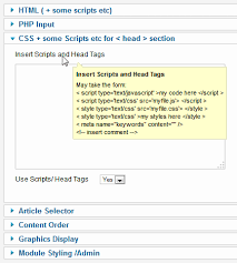 joomla blank template how to use custom js css php to selected joomla pages