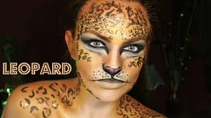 Halloween Makeup Design Halloween Makeup Tutorial Leopard Youtube