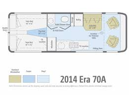 Type B Motorhome Floor Plans 2014 Winnebago Era 70a Class B Rv For Sale Rv Details New