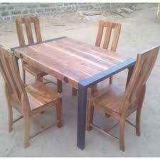 used wood dining table dining table iron dining table with wood top manufacturer from jodhpur