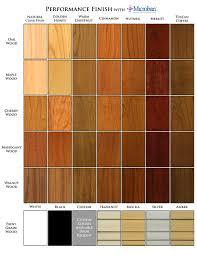 cornice stain color selection chart island pinterest cornice