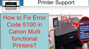 cara reset printer canon ip 2770 eror 5100 how to fix error code 5100 in canon multi functional printers 1 800