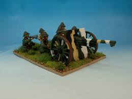 french 75mm over open sights interwar usmc 75mm field gun