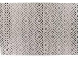 conforama tapis chambre tapis tissé plat motifs géométriques 160x230 cm dune coloris beige