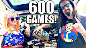 insane find 600 big box pc games for 75 games from 80s 90s