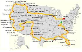 map trip u s a road trip map tb j travel