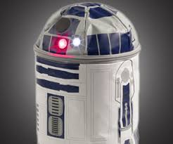 r2d2 lunch bag with lights sound shizzle kicks