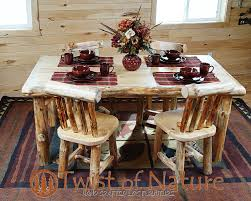 handmade log dining table wood dining table log dining