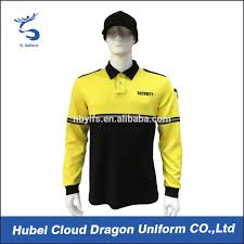reflective yellow security polo shirts custom embroidery mens