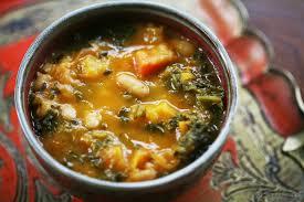 kale and roasted vegetable soup recipe simplyrecipes com