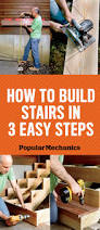 How To Build A Shed Against House by How To Build Stairs Stairs Design U0026 Plans