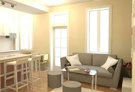 small one room apartment interior design inspiration astana