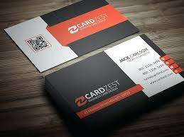 awesome professional business card templates free download size