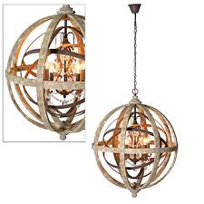 Orb Chandeliers Amusing Large Wood Chandelier At Wooden Orb By Cowshed