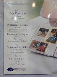 scrapbook page protectors creative memories page protectors for 8 1 2 x 11