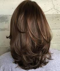 step cutting hair gallery middle hair layer cutting step by step black hairstle