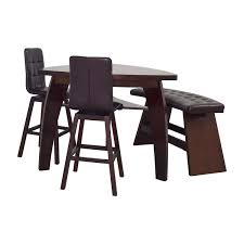bobs furniture round dining table 76 off bob s furniture bob s furniture boomerang bar stool and