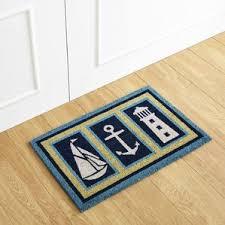Doormat Leave Nautical Door Mats You U0027ll Love Wayfair