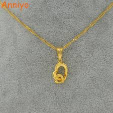 necklace aliexpress images Anniyo small heart necklace pendant for women gold color small jpg