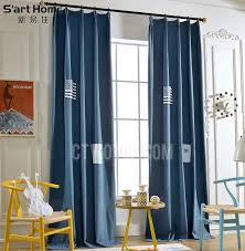 Girls Bedding And Curtains by Denim Cotton Fabric Boy And Girls Bedroom Curtains