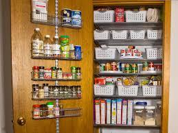 pantry organization ideas designs pantry door rack organizer