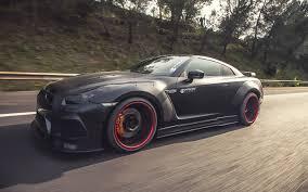 Nissan Gtr Modified - 2015 prior design nissan gt r cars black bodykit modified