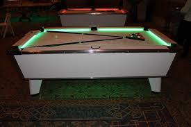high end pool tables led white pool table florida corporate events