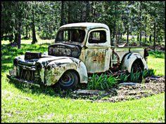 i m tempted to do this to my hubby s beat up vintage truck just