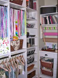 closet options for small spaces with white shelves and cabinets
