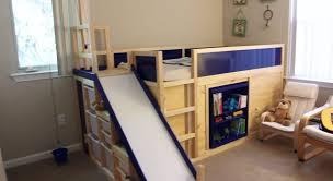 loft bed hacks kura contenitore scivolo cameretta pinterest kids rooms