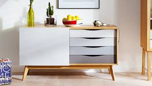 scandinavian style wooden sideboard silo chest of drawers