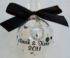 personalized ornaments wedding 24 best christmas ornaments images on christmas