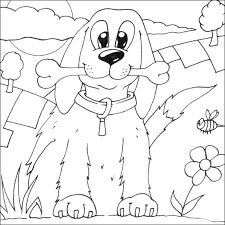 dog coloring 7 charlestontoday
