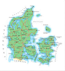 Northwestern Europe Map by Maps Of Denmark Map Library Maps Of The World