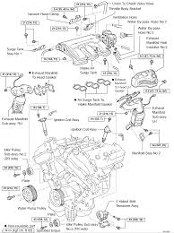 toyota avalon 2005 model engine picture