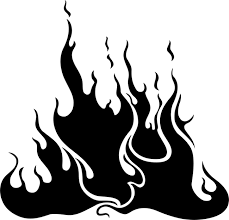 coloring pages of flames flame stencils free free download clip art free clip art on