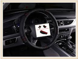 toyota corolla steering wheel cover shop leather car steering wheel covers fit for ford focus