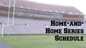 fbs college football home and home series schedule